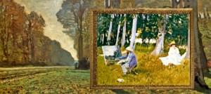 Claude Monet: Le Pave? de Chailly, fore?t de Fontainebleau (vers I865).