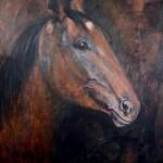 cheval_2015_huile_50x70cm